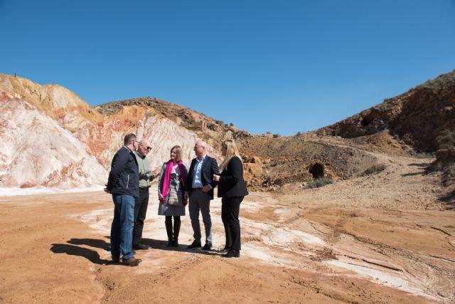 La Comunidad actuará en las instalaciones mineras de Mazarrón para evitar riesgos y proteger el medio ambiente, Foto 1