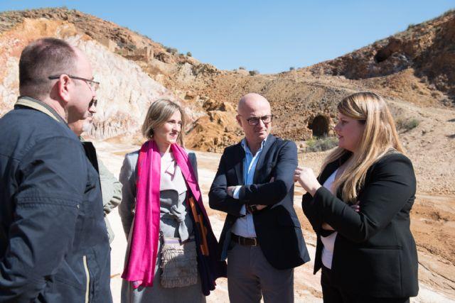 La Comunidad actuará en las instalaciones mineras de Mazarrón para evitar riesgos y proteger el medio ambiente, Foto 2