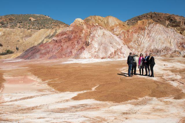La Comunidad actuará en las instalaciones mineras de Mazarrón para evitar riesgos y proteger el medio ambiente, Foto 3