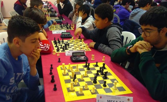 Totana hosted the Regional Final School Sports Chess