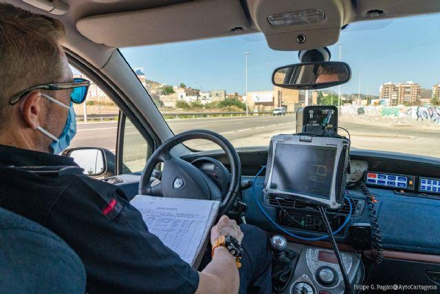 Nuevos controles de velocidad de la Policía Local de Cartagena 23/02/2021 - 1, Foto 1