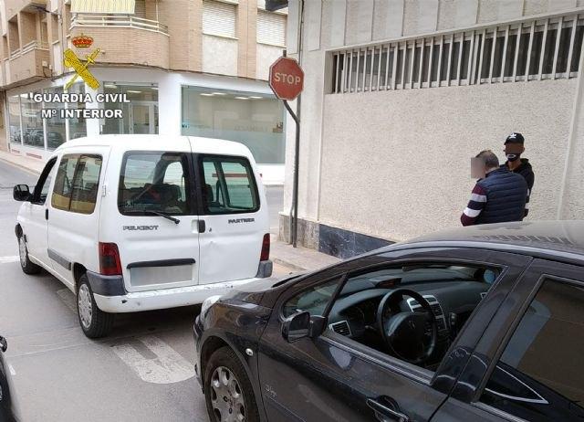 La Guardia Civil detiene en San Pedro del Pinatar al presunto autor de media docena de hurtos en vehículos - 1, Foto 1