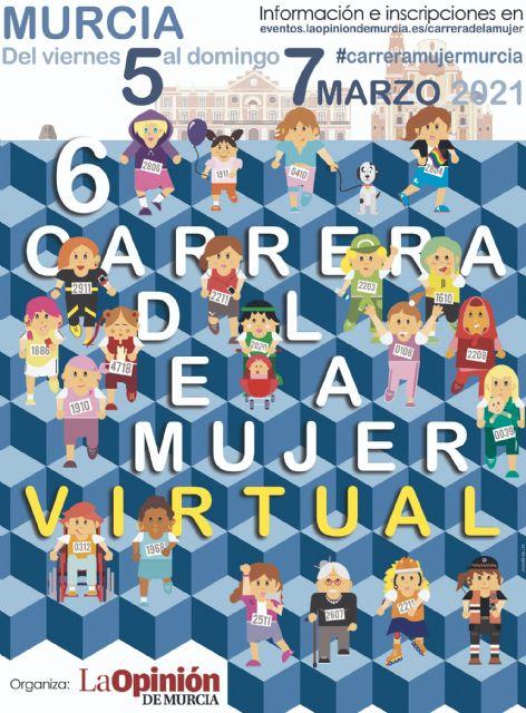 Del 5 al 7 de marzo, cita virtual con la Carrera de la Mujer - 1, Foto 1