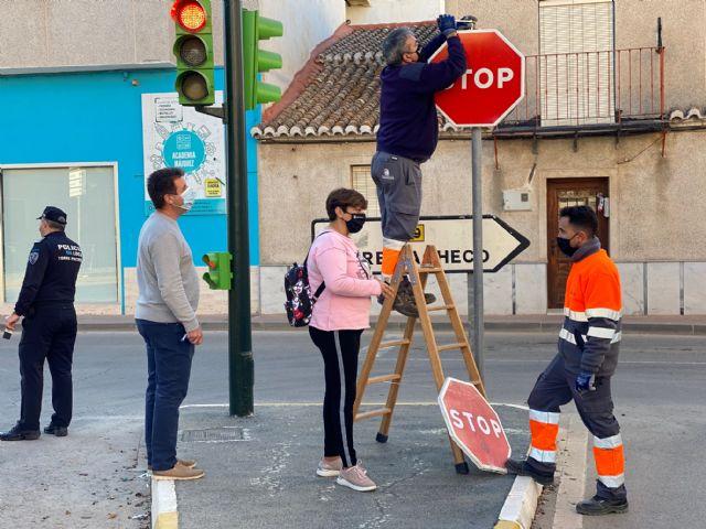 Nueva señalización de tráfico en el municipio - 2, Foto 2