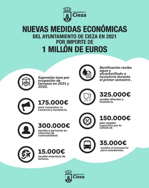 El Gobierno municipal anuncia nuevas medidas económicas con ayudas por importe de un millón de euros - 1, Foto 1
