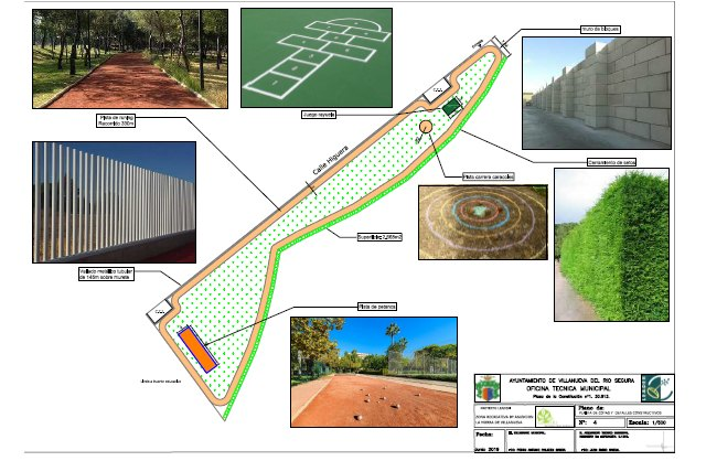 Inicio  de obras de zonas verdes con dotación de  espacios de actividad física y  juegos en los barrios de la Morra y la Asunción - 1, Foto 1