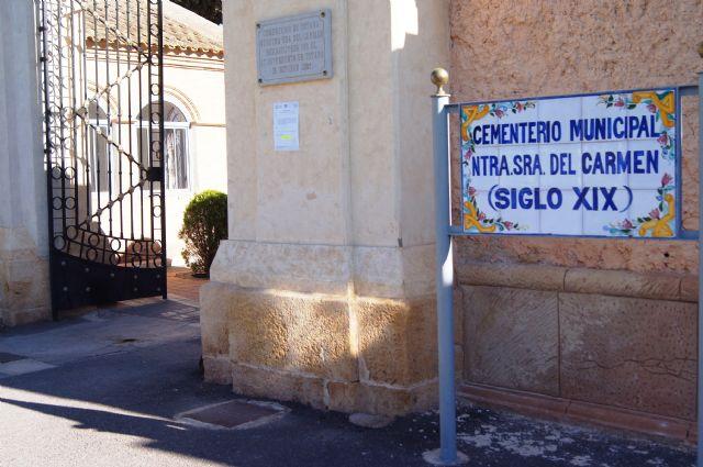 Se adjudica la construcción de 40 nuevos nichos en el Cementerio Municipal Nuestra Señora del Carmen - 1, Foto 1