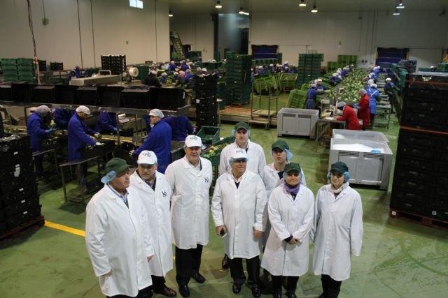Agricultura facilitará una inversión de 1,2 millones de la central hortofrutícola Kettle Produce España en Alhama de Murcia, Foto 1