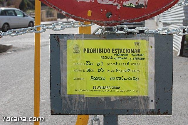 Se restringe el acceso de peatones y vehículos a las inmediaciones de la zona del Arco de San Pedro - 2, Foto 2