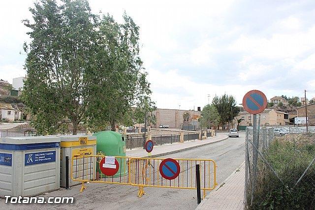 Se restringe el acceso de peatones y vehículos a las inmediaciones de la zona del Arco de San Pedro - 3, Foto 3