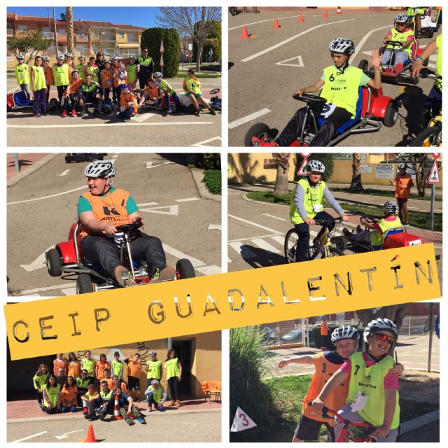 "Students of the CEIP ""Guadalentín"" of El Paretón participate in the sessions of the Road Education program promoted by the Local Police"
