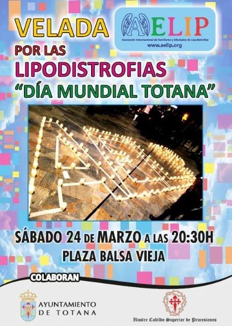 Mañana sábado tendrá lugar la Velada por las lipodistrofias en la plaza Balsa Vieja de Totana, Foto 2