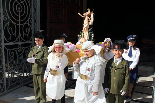 Alcantarilla vibra con la Procesión Infantil por sus calles, con unos 1800 niños y niñas - 2, Foto 2