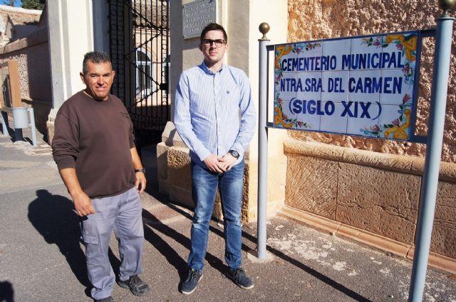 Se prorroga por un año el contrato del servicio de mantenimiento del Cementerio Municipal Nuestra Señora del Carmen, Foto 1