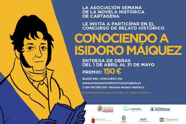 La Semana de la Novela Histórica de Cartagena dedica un Concurso de Relatos Cortos a Isidoro Máiquez - 1, Foto 1