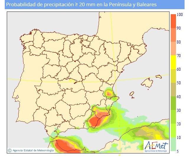 Mañana martes se intensifican las lluvias, según informa Protección Civil Totana - 2, Foto 2