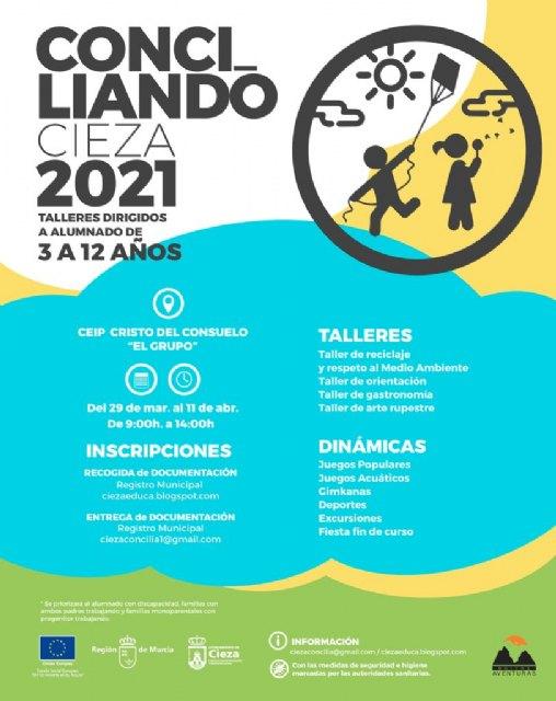 La Concejalía de Educación oferta los talleres de Semana Santa Conciliando Cieza 2021 - 1, Foto 1