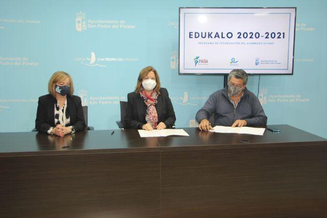 Ayuntamiento y FAGA renuevan su compromiso con el programa Edukalo por octavo año consecutivo - 1, Foto 1