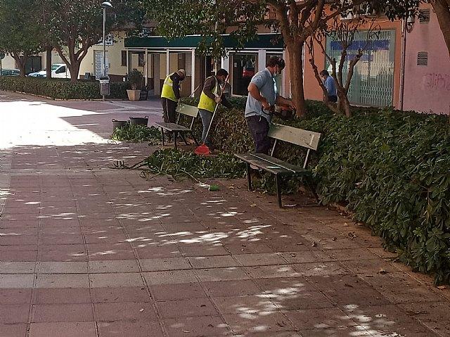 [Brigada municipal: trabajos del 23 de marzo