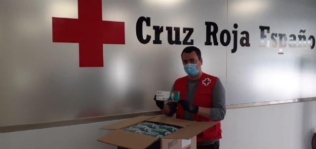 Termikcontrol dona 6000 mascarillas a Cruz Roja de Murcia - 1, Foto 1