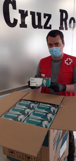 Termikcontrol dona 6000 mascarillas a Cruz Roja de Murcia - 2, Foto 2