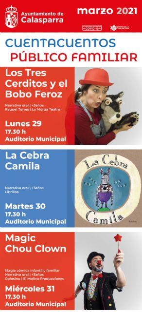 Cuentacuentos en Primavera dentro de la programación cultural de Calasparra - 4, Foto 4