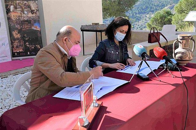 Lucas pide a Cristina Sánchez apoyo de la Comunidad ante la concurrencia de Cieza a las ayudas del Ministerio de Turismo - 1, Foto 1