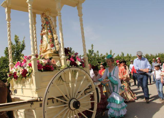 Puerto Lumbreras celebra una Romería en Honor a la Virgen del Rocío - 1, Foto 1