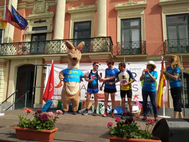The Totana Athletics Club climbs to the podium in Murcia