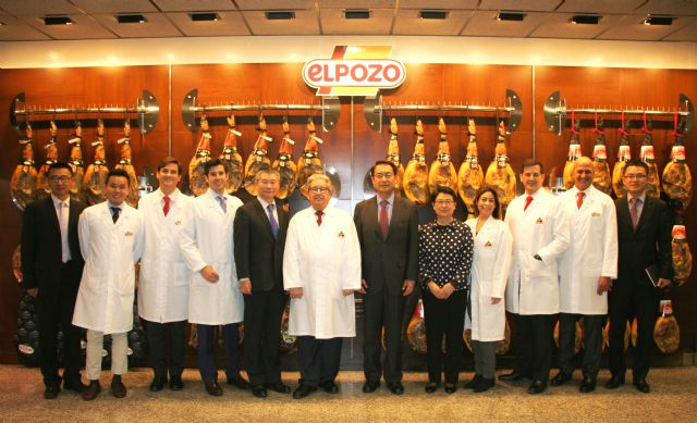 El embajador chino en España visita las instalaciones de ELPOZO ALIMENTACIÓN, Foto 1
