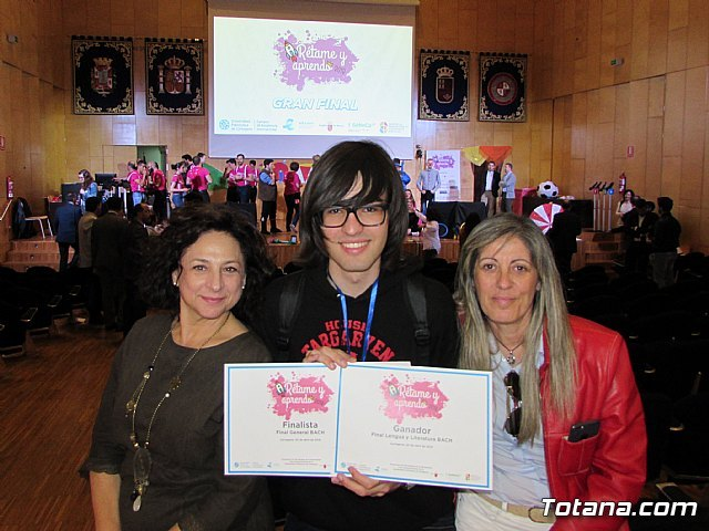 The student of the IES Prado Mayor Fernando Moreno triumphs in the Contest «Remate and I learn»