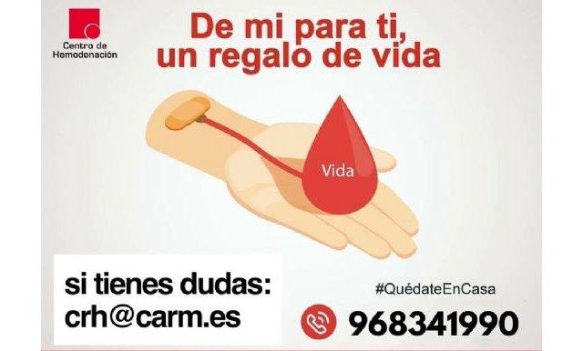 Campaña de donación de sangre del centro regional de hemodonación - 1, Foto 1