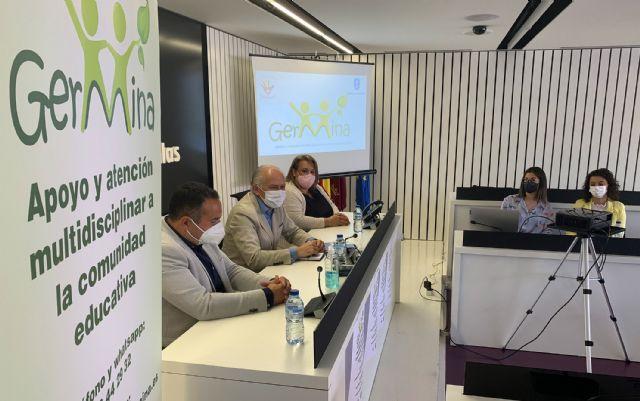 El proyecto Germina proporcionará apoyo y atención multidisciplinar a la comunidad educativa de Las Torres de Cotillas - 1, Foto 1
