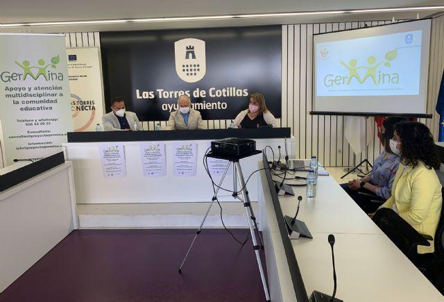 El proyecto Germina proporcionará apoyo y atención multidisciplinar a la comunidad educativa de Las Torres de Cotillas - 2, Foto 2