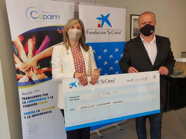 Fundación Cepaim recibe al apoyo de la Fundación la Caixa y CaixaBank para poner en marcha una vivienda de acogida para mujeres inmigrantes - 2, Foto 2