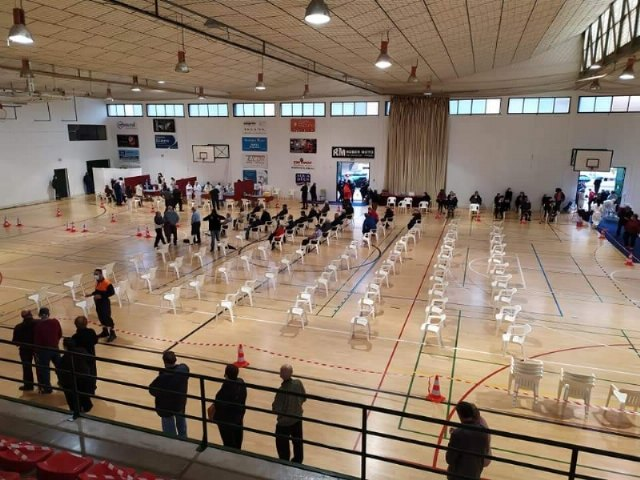 [La Alcaldía exige a la Consejería de Salud que reconsidere su decisión de vacunar en Lorca y que los colectivos sean vacunados en el municipio de Totana