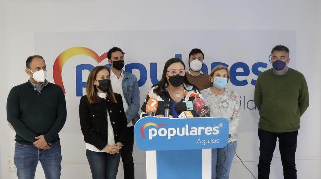 El PP de Águilas exige a la alcaldesa que deje de mentir y manipular a los vecinos porque no se elimina el punto de vacunación masiva en Águilas - 1, Foto 1