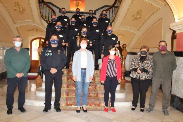 Presentados once nuevos agentes en prácticas que se incorporan a la Policía Local de Jumilla - 1, Foto 1