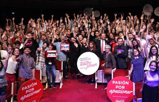 El Colegio Severo Ochoa y la Escuela de Teatro de Alhama ganan los premios Buero de Teatro Joven de la Fundación Coca-Cola en Murcia, Foto 3