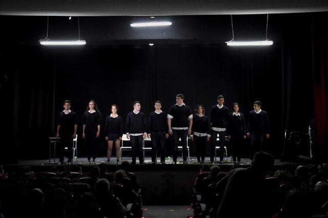 La compañía juvenil de teatro Elenco 11 ha sido elegida como ganadora de los Premios Buero de Teatro Joven 2017 en la Región de Murcia, Foto 4