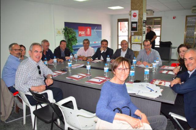 Pascual Lucas recibe en Cieza a todos los alcaldes socialistas afectados por el fracking y a los diputados responsables de la materia para hacer frente común - 1, Foto 1