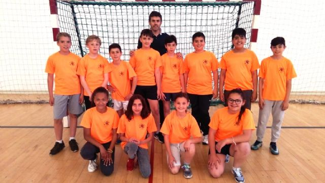 The Local Phase of the School Sports Alevín Handball is ended