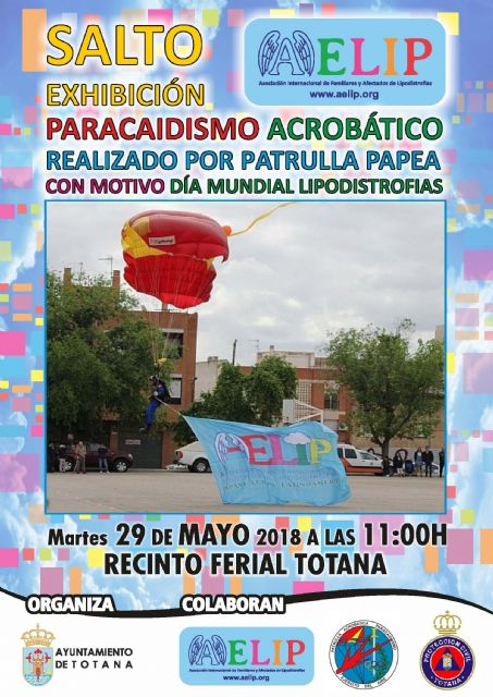 The City Council and AELIP are organizing the Acrobatic Leap of the PAPEA Patrol on May 29th on the occasion of World Lipodystrophy Day