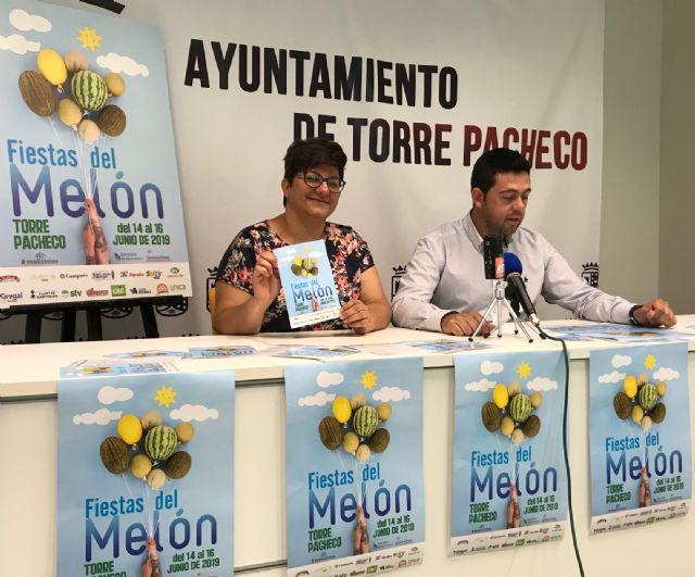 Las FIESTAS DEL MELÓN en Torre Pacheco del 14 al 16 de junio - 2, Foto 2
