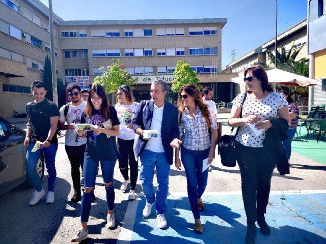 Contigo Somos Democracia propone aumentar la frecuencia del tranvía a la Universidad, mejorar el acceso al campus y nuevas becas para los estudiantes - 1, Foto 1