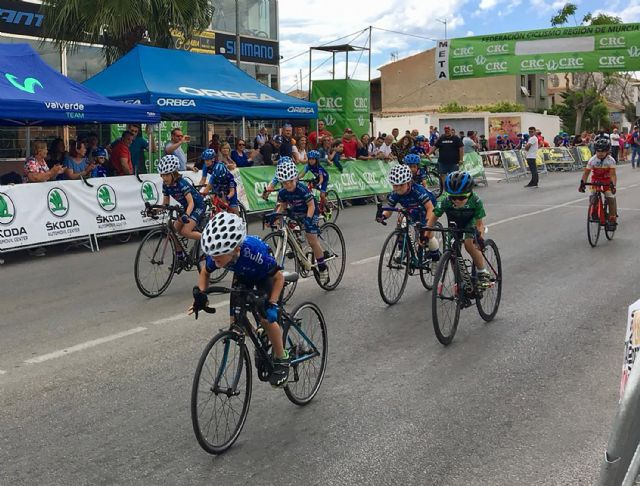 Las jóvenes promesas del ciclismo murciano ofrecen una gran exhibición en Las Torres de Cotillas - 1, Foto 1