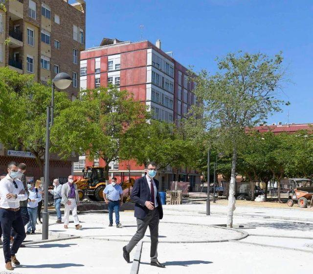 Ronda Sur contará con un nuevo eje peatonal de 12.000 m2 que unirá los jardines Maestro Ibarra y José Antonio Camacho - 1, Foto 1