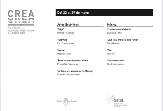 Cultura pone a disposición de la sociedad otras nueve piezas audiovisuales de artes escénicas y música de la Región de forma gratuita - 1, Foto 1