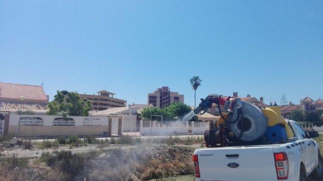 Continúan los trabajos de desinsectación frente a los mosquitos, Foto 5