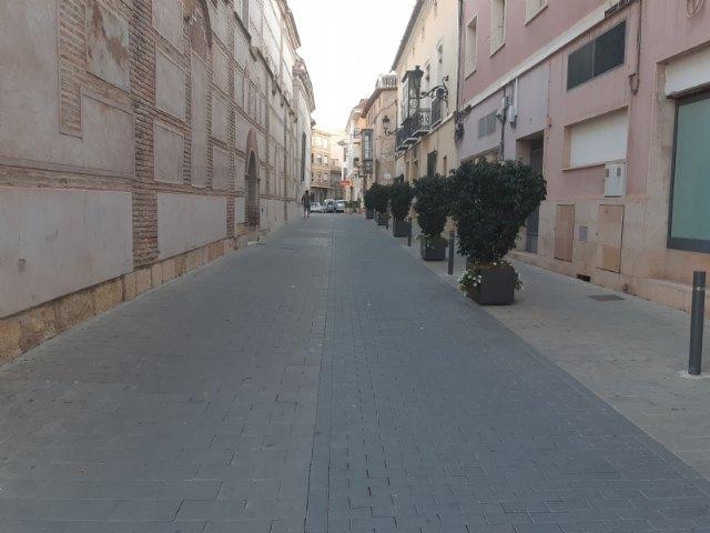 Mañana arranca la peatonalizaci�n de 14 calles y plazas de Totana durante 12 horas seguidas para habilitar espacios de paseo y recreo a los ciudadanos, Foto 2